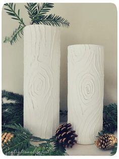 Faux Bois Vases  by Centsational Girl