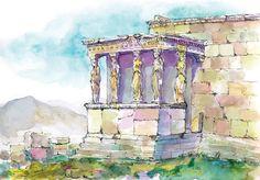 Karyatids-Acropolis