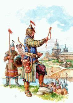 Longtime Cossack ancestors (Cossack, Russian, troops, Cossack, horde, Mongol, Mongolian)