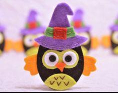 Halloween in feltro e pannolenci