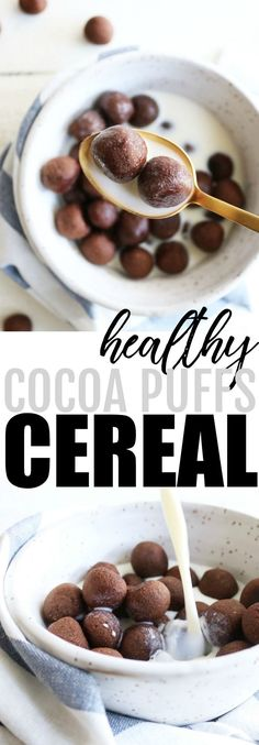 Healthy Cocoa Puffs Cereal