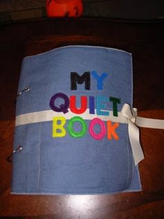 quiet book ideas...totally starting one of these after the new year for S to have it when she's ready :)