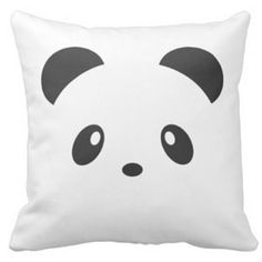 Panda Pillows & Cushions - Panda Things