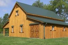 Www.GaragePlansforFree.com - Home > Barn Building Plan Designs