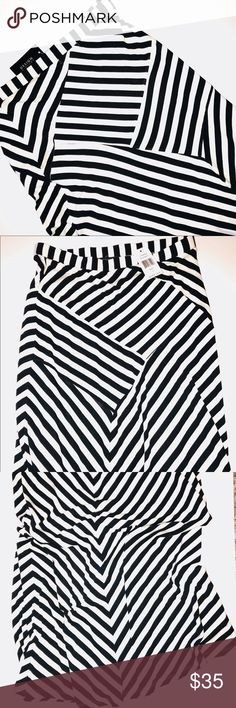 NWT Design History Black & White Skirt NWT! Design History Skirts Maxi