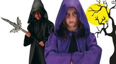 Un mantello è sempre un perfetto travestimento per la notte di Halloween....