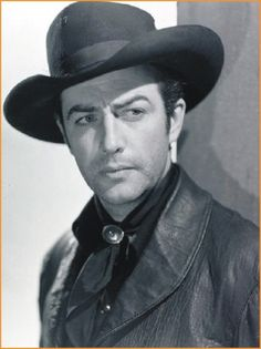 Robert Taylor (1911-1969) In 1941 portrayed Billy Bonney in Billy the Kid. After that he played in several gunfighter roles, both here and villian. He was a black hat guy. Robert Taylor Western roles include starring, supporting and cameo appearances.