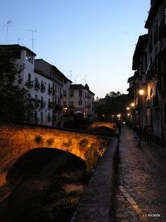 Carrera del Darro, Granada (España)