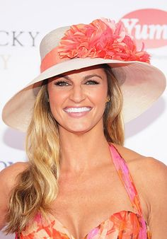 Erin Andrews Kentucky Derby Hat Style