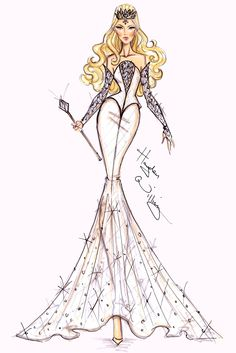 Hayden Williams Illustration~ White Witch[Oz-the Great and Powerful]