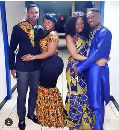 The Best Family Ankara Styles Mix Looking for the best ankara outfit that will be ok for your family? worry no more because we here at ANKARA XCLUSIVE gathered some lovely family collections of ankara styles. Couples African Outfits, Couple Outfits, African Attire, African Wear, African Women, African Shirts, African Print Dresses, African Fashion Dresses, African Dress