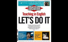 Libération newspaper publishes whole front page in English - Telegraph