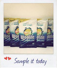 FREE Woolite Sample Pack!