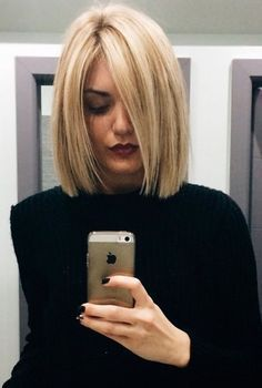 Medium Bob Hairstyles Beauteous Medium Bob Hairstyles For Fine Hair  New Haircut  Pinterest  Fine