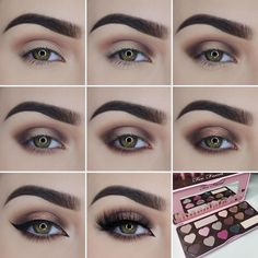 """Love this step-by-step pictorial by @miaumauve showing how she got this gorgeous look with our Chocolate Bon Bons Palette! Who's going to try it? …"""