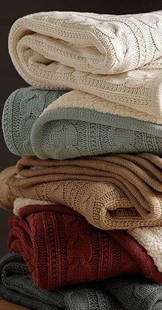 Warm & Cozy Blankets...
