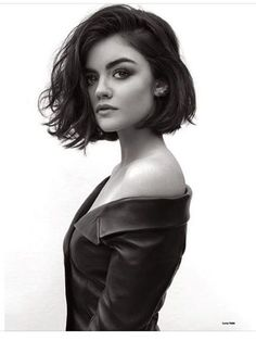 lucy hale short hair instagram - Google Search                                                                                                                                                                                 More