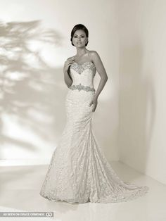 cristiano lucci strapless mermaid wedding dress #GOWSRedesign