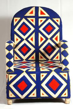 Beaded Yoruba chair / Nigeria