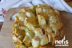 Fırında Sarımsaklı ve Kaşarlı Ekmek Fotoğrafı 3