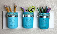 How To Use Mason Jars In Home Décor: 25 Inpsiring Ideas | DigsDigs