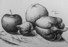 Owoce i Warzywa – Białowieskie koło rysunkowe – Spotkanie nr.9 - http://whitecandy.pl/owoce-warzywa-bialowieskie-kolo-rysunkowe-spotkanie-nr-9/