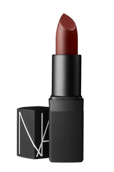 Go a bit darker with your red lip look by swiping on this Nars Semi Matte Lipstick in Fire Down Below.