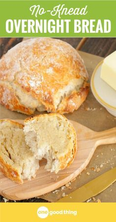 No-Knead Overnight Bread 2019 Baking can be tricky but making a delicious loaf of homemade bread is actually easier than you'd think! Here's a simple recipe that anyone can make. The post No-Knead Overnight Bread 2019 appeared first on Rolls Diy. Bread Recipes, Baking Recipes, Chicken Recipes, Easy Bread, Simple Bread Recipe, Overnight Bread Dough Recipe, No Fail Bread Recipe, No Knead Bread, Artisan Bread
