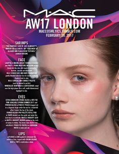 Backstage at Shrimps, London Fashion Week. Get the look with MAC Pinch O' Peach Blush. Mac Powder, Body Foundation, Natural Blush, Peach Blush, Aw17, London Fashion, Face And Body, Get The Look, Backstage