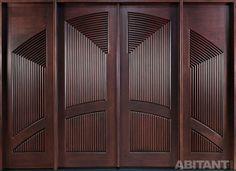 Входная дверь в стилистике ар-деко