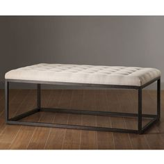 $269 Renate Coffee Table Ottoman | Overstock.com needing this for the blank space on the wall below the art in my budoir!