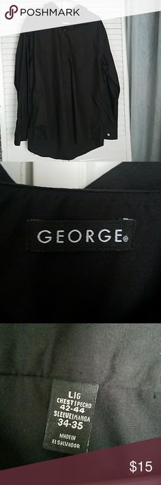 👉2 for $20👈Men's dress shirt Only worn once or twice. Gently used George Shirts
