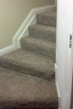 Beautiful steps job with Mohawk carpet installed by Home Based Carpet & Flooring http://www.cincinnatifloorings.com