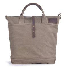 5289f02a76e  60612 Gootium Vintage Canvas Top Handle Handbag Shoulder Bag Messenger Bags