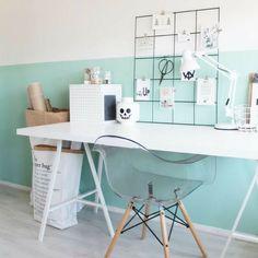 24 Trendy Home Office Ideas Diy Kids Cozy Home Office, Home Office Desks, Diy Room Decor, Bedroom Decor, Home Decor, Trendy Home, Cozy House, Home Bedroom, Girl Room