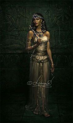 """Nephthys is the Egyptian Goddess of the Dead.  Her name means """"Mistress of the House"""" in the Egyptian language. She has also been called the """"Friend of the Dead"""". Nephthys is the shadow of her sister Isis and rules over the darkness and the secrets of death.  She is the protector of souls and the queen of the Underworld."""