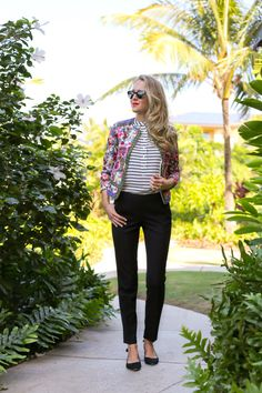 Statement Blazer (and J&M flats!) | Memorandum