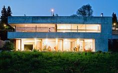 Casa Pré-Fabricada de betão, na Suíça / Concrete Prefab House in Switzerland