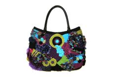I design and make handbags. This is probably the most popular colour combination.  www.annlacybags.com www.facebook.com/annlacybags