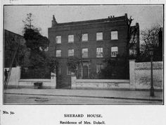 Sherard House Eltham, originally on the High Street close to Nat West Bank