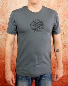 Tree of Life #TShirt- Grey Cotton Premium Quality Tee Shirt By #GoddessGearDesigns $22.00