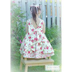 The Secret Garden Dress PDF Pattern Sizes 2 to by AudreyTiffany