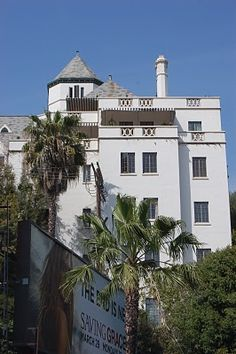 The famous, or infamous Chateau Marmont, Sunset Boulevard, Los Angeles, California