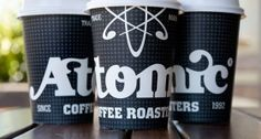 Atomic #Coffee Cup #Packaging