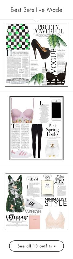"""""""Best Sets I've Made"""" by elliepink16 on Polyvore featuring Christian Louboutin, adidas Originals, Citizens of Humanity, H&M, Chanel, Topshop, Rime Arodaky, adidas, Jimmy Choo and Bony Levy"""