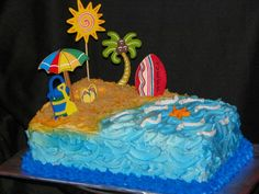 beach cakes - Google Search