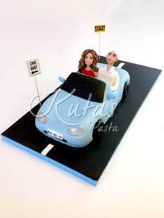 Araba Şekilli Pasta Sevgililer Mazda Miata, Istanbul, Cakes, Cake Makers, Kuchen, Cake, Pastries, Cookies, Torte