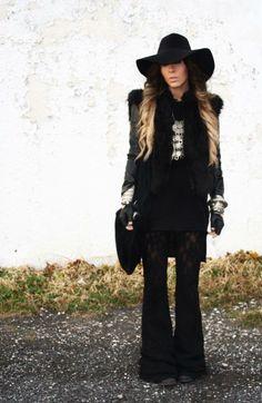 Bewolf blog...Goth hippie... http://bewolffashion.blogspot.ca/