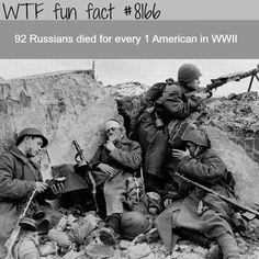Russian casualties in WW2 - WTF fun fact>>>>>>so did the Serbs with Germans(50 of wounded,100 if dead)
