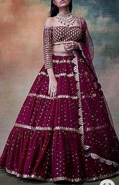 Lehenga Choli, Anarkali, Net Lehenga, Bridal Lehenga, Punjabi Lehenga, Indian Lehenga, Sarees, Party Wear Indian Dresses, Dress Indian Style
